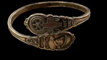 Armband VI AUT BAT mobilisatie 1939 gehelmde soldaat serie
