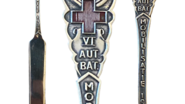 Briefopener VI Auto Bataljon Mobilisatie 1939 serie