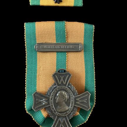 Oorlogsherinneringskruis met gesp Nederland mei 1940 en baton
