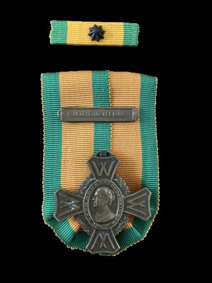 Oorlogsherinneringskruis met gesp Nederland Mei 1940