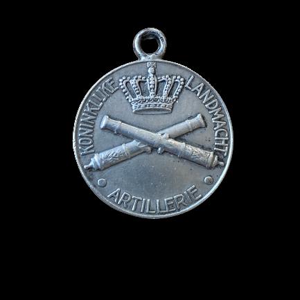 Draagpenning Artillerie van Begeer nummer 421