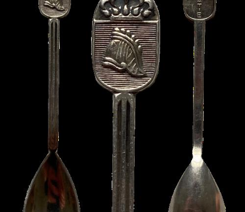 Lepeltje Genie Mobilisatie 1939 Serie Keltum Wapen met Kroon