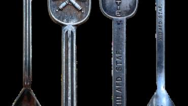 Lepeltje Luchtdoelartillerie Mobilisatie 1939 Serie Keltum Wapen met Kroon