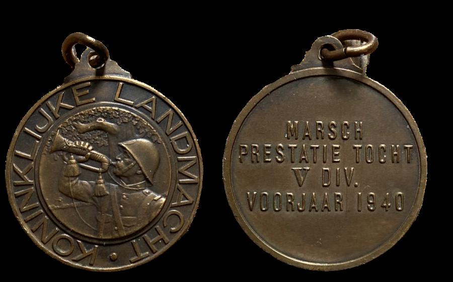Penning Marsch Prestatie Tocht V Divisie Voorjaar 1940
