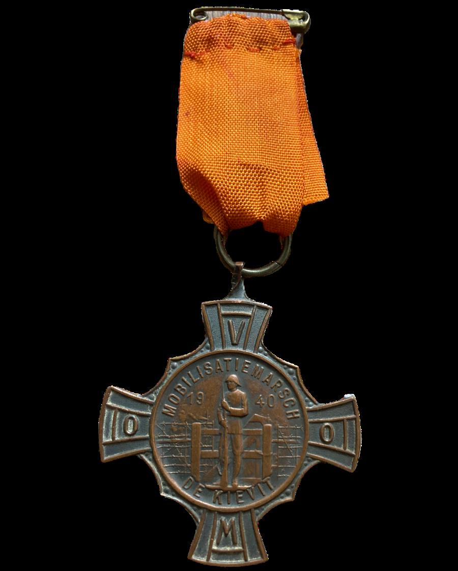 Medaille Mobilisatie Marsch de Kievit 1940