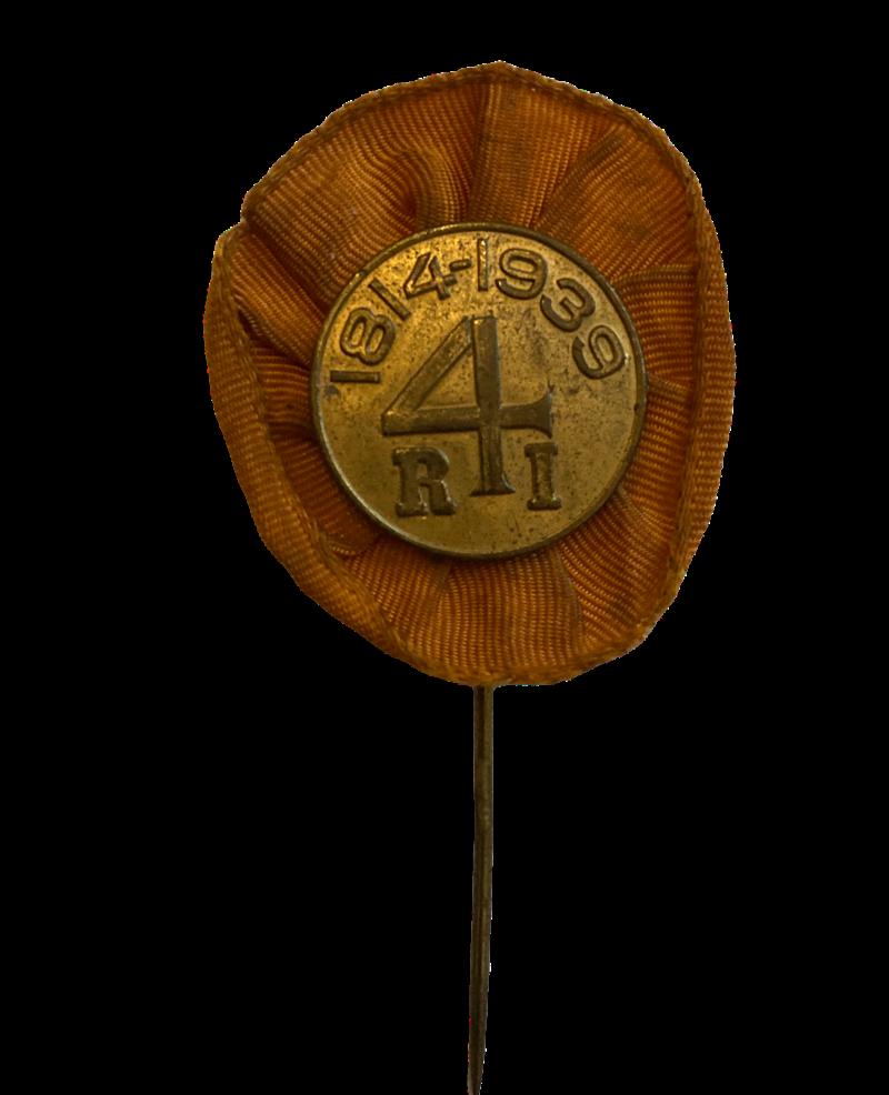 Speld 125 jarig bestaan 4e regiment infanterie 1939
