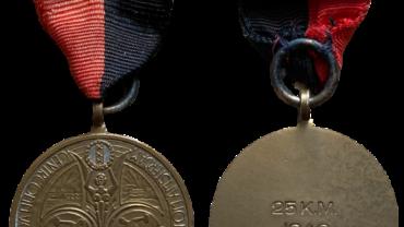 Wandelmars Ontwikkeling en Ontspanning Gemobiliseerde soldaten in en om Amsterdam medaille prijs