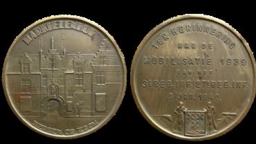 PENNING MOBILISATIE TER HERINNERING AAN DE MOBILISATIE 1939 VAN HET 3e REG. INF. 27e REG. INF. 9 JAN. 1940